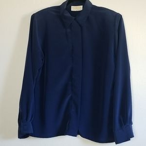 Sophisticates PENDLETON size 8 Navy blue